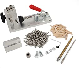 Romacci Wood Pocket Jig Kit Ferramenta de marcenaria para perfuratriz para carpinteiro portátil