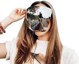 Xikangshun - Gafas De Sol De Espejo Grandes Polarizadas De Cara Completa con Protección Grande Y Gran Tamaño, Gafas De Visera con Espejos De Protección Facial/Gafas De Sol para Hombres