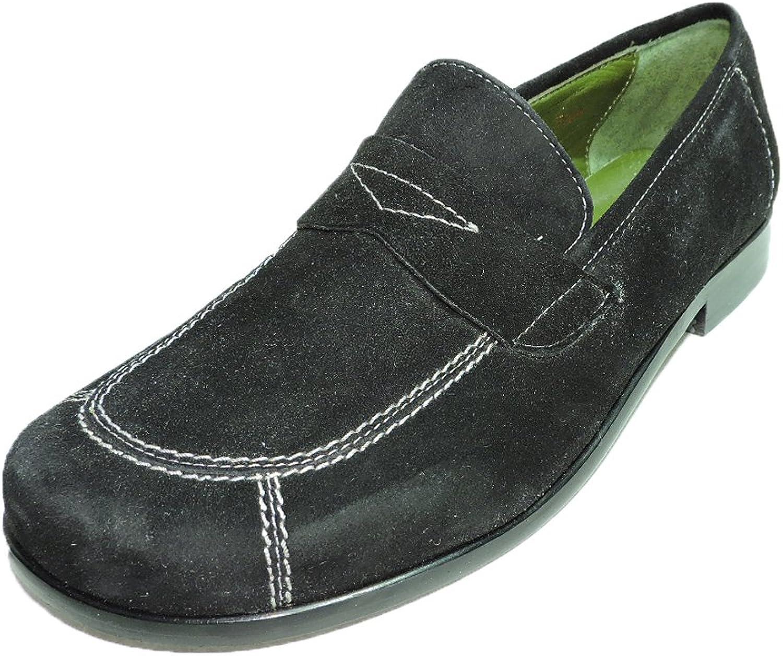 Donald J Pliner URB Womens Black Suede Flats Loafer shoes Size 5.5