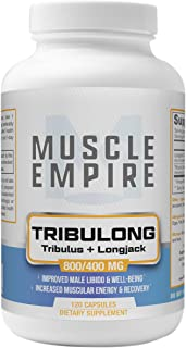 Tribulong Capsules - Tribulus Terrestris & Longjack Extract Blend - Improved Male Libido & Muscle Growth & Strength Suppor...