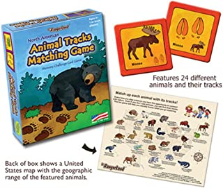 JR. RANGERLAND Animal Tracks Matching Game One Color One Size