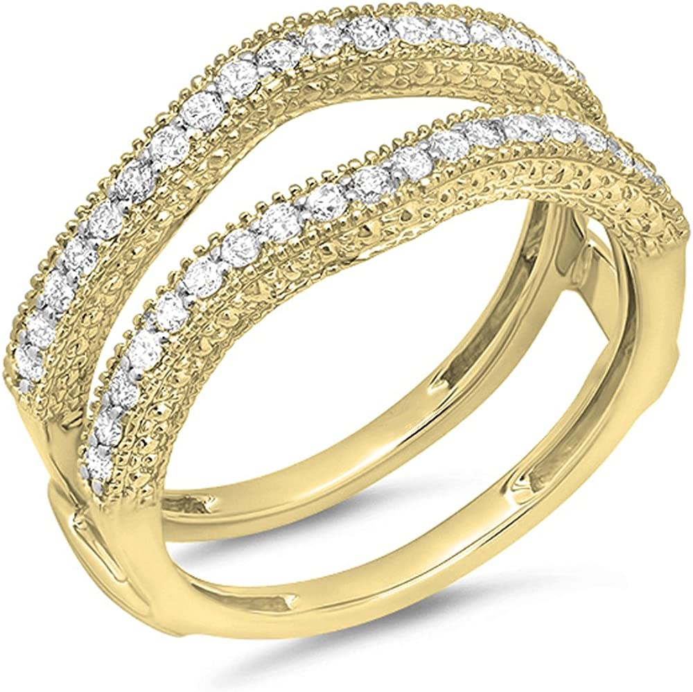 New products, world's highest quality popular! Dazzlingrock Collection 0.45 Carat security ctw Diamond 10K Wedding Ban