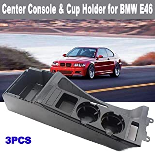 Drinks Holders Car Cup Center Console Holder Car Interior Organizer Multifunction Auto Vehicle Seat Cup Drink Holder for BMW 3 Series E46