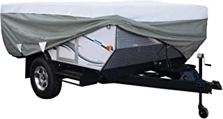 Classic Accessories OverDrive PolyPro 3 Deluxe Folding Camping Trailer Cover, Fits Up To 8' 6