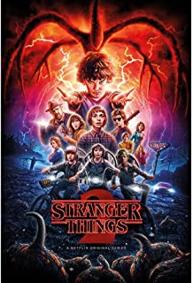 Stranger Things- Segunda Temporada/Colaje, Multicolor,