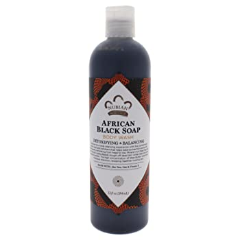 Nubian Heritage African Black Soap Body Wash