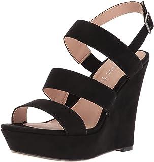 Steve Madden Women's Blenda Black Fabric Fashion Sandals-4.5 UK/India (37 EU) (6.5 US) (882946186433)