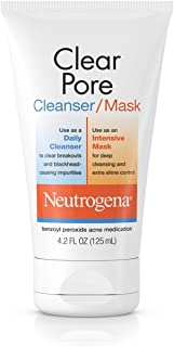 Neutrogena Clear Pore Cleanser/Mask, 124ml