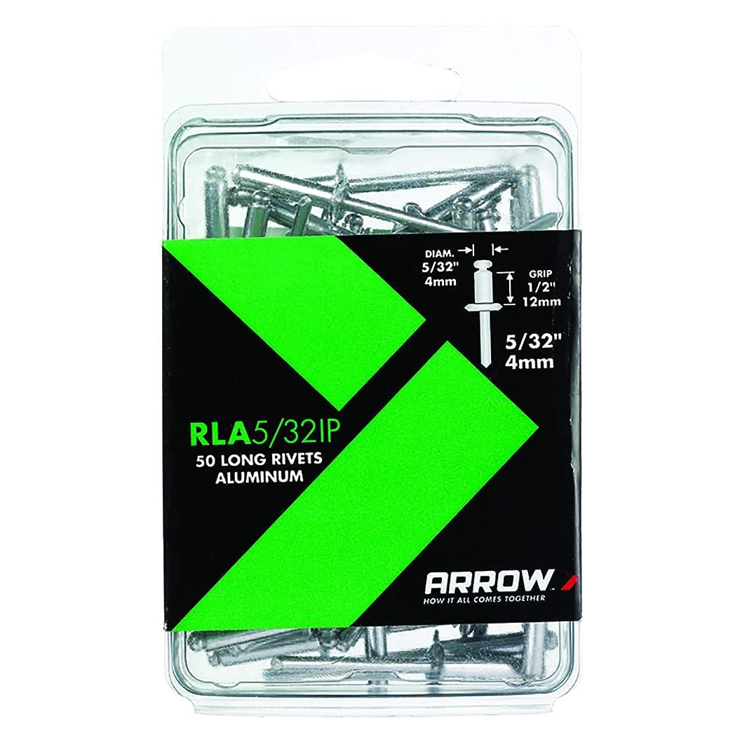 Arrow Fastener RLA5/32IP Long Aluminum Rivets, 5/32-Inch, 50-Pack