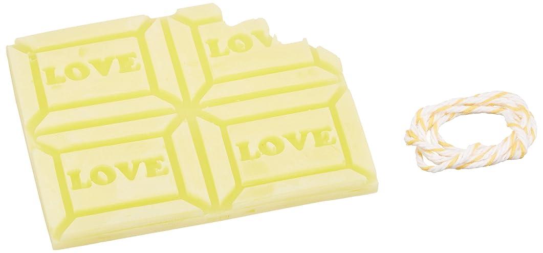 サーキュレーション規則性シュリンクGRASSE TOKYO AROMATICWAXチャーム「板チョコ(LOVE)」(YE) ベルガモット アロマティックワックス グラーストウキョウ
