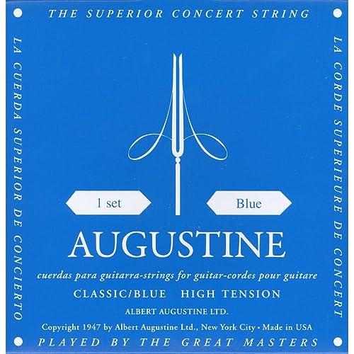 Augustine Classic Blue Set Copper Wound Classical Guitar Strings