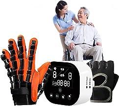 Rehabilitation Robot Glove, Hand Rehabilitation Device for Stroke Hemiplegia Hand Function Recovery Finger Trainer,Right-L