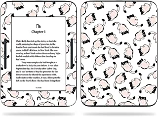 MightySkins Skin Compatible with Barnes & Noble Nook GlowLight 3 (2017) - Raining Cats | Protective, Durable, and Unique Vinyl Decal wrap Cover | Easy to Apply, Remove | Made in The USA