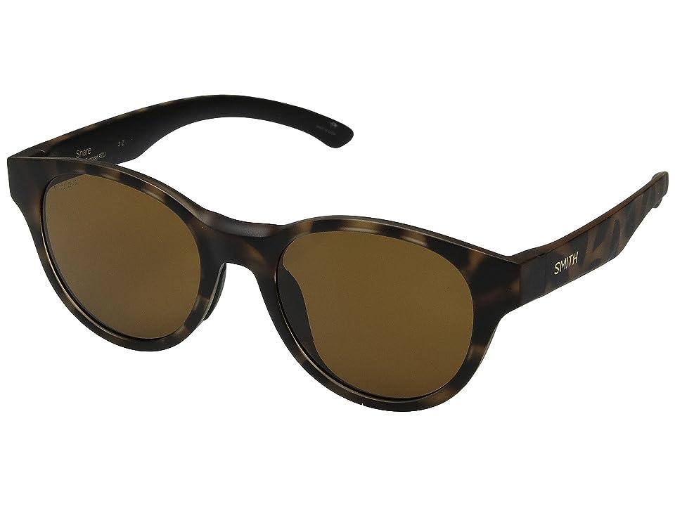 0fc23be03986 Smith Optics Snare (Matte Tortoise Brown Carbonic Polarized Lens) Athletic  Performance Sport Sunglasses