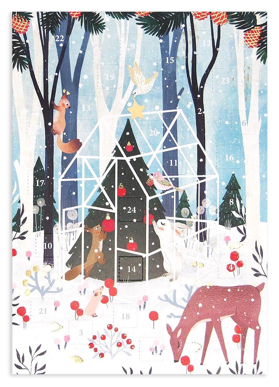 ラリー手のひらライオネルグリーンストリートロジャーラボード 【クリスマス】 アドベントカレンダー (ツリーを飾り付ける動物たち) ACC067