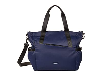 Hedgren Galactic Shoulder Bag/Tote (Halo Blue) Tote Handbags