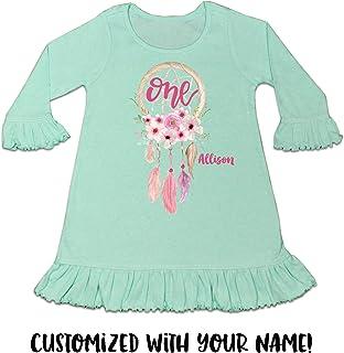 Baby Girl 1st Birthday Dress Baby Girl 1st Birthday Outfit One Dress