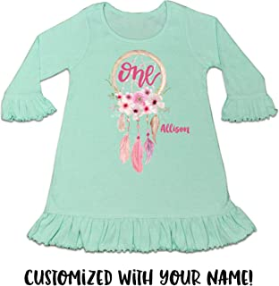 Baby Girl 1st Birthday Dress Baby Girl 1st Birthday Outfit One Dress