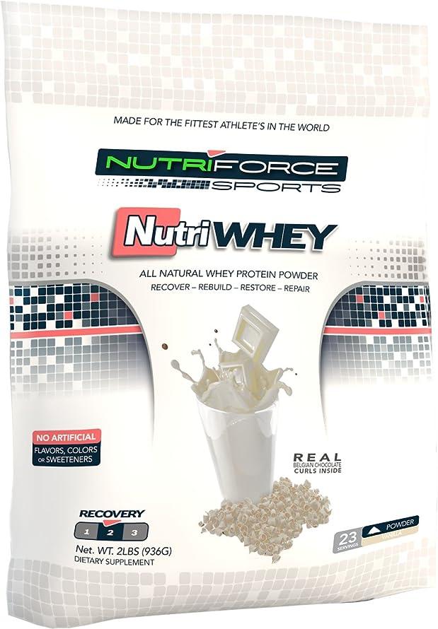 血ブレースブレイズNutriforce Sports NutriWhey Vanilla - 2 lbs 23 Servings by Nutri-Force Nutrition