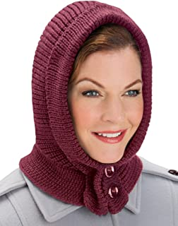 Cozy Unisex Buttoned Hat