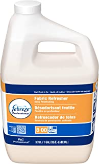 Bulk Odor Eliminator from Febreze, Static Guard and Deep Penetrating Fabric Refresher Refill, Fresh Clean Scent, 1 Gal. (Case of 3)