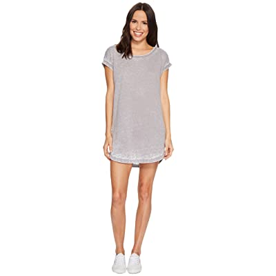 Allen Allen Crisscross Back Dress (Medium Grey) Women