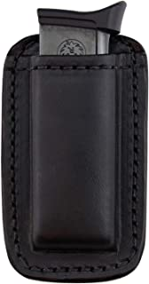 Relentless Tactical Leather Magazine Holder | Made in USA | Sizes to fit virtually Any 9mm .40 .45 or .380 Pistol Mag | Single or Double Stack | IWB or OWB