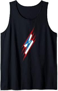 Gordon Number 10 Lightning Bolt Tank Top
