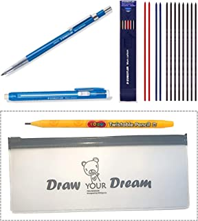 Staedtler Mechanical Technical Pens Pencil - Writing Supplies Set Technico Mars Lead Holder(780C), Stick Eraser(52850) & L...