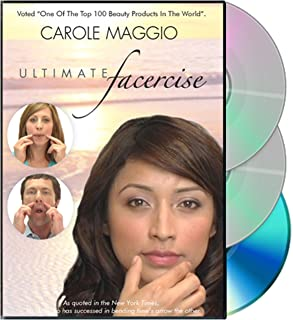 Carole Maggio Ultimate Facercise DVD (NTSC format)