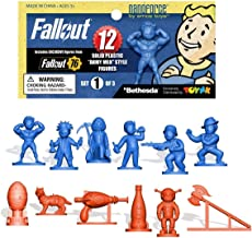 Toynk Fallout Nanoforce Series 1 Army Builder Figure Collection - Bagged Set 1 | Vault Boy | Weapons | Special Edition Gam...