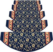 JIAJUAN Stair Carpet Treads Non-Slip Self-Sticking Thick Soft Step Pads Washable Home, 4 Styles, 5 Sizes, Customize (Color...
