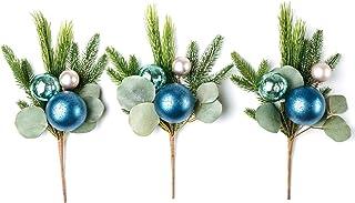"CraftMore Christmas Pine Pick 16"" Set of 3"