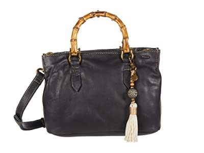 The Sak Santa Barbara Mini Satchel (Black) Handbags