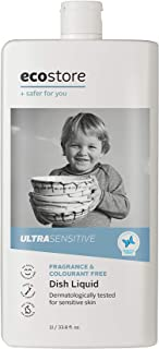 Ecostore Fragrance Free Ultra-Sensitive Dish Liquid, 1 liters
