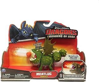 DreamWorks Dragons Defenders of Berk - Action Dragon Figure - Meatlug Gronckle