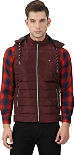 Monte Carlo Printed Wine Coloured Polyester Jacket