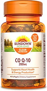 Sundown Naturals CoQ10 200 mg 40 Softgels