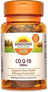 Sundown Naturals CoQ10 200 mg 40 Softgels