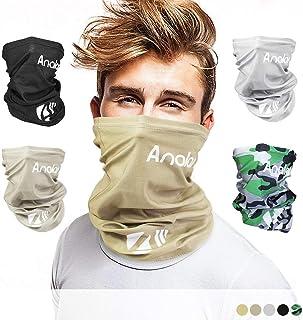 ANALAN Half Face Cover Bandana Neck Gaiter Sun Protection Headwear for Men and Women..