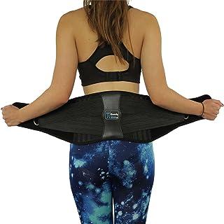 Attelle dorsale de qualité supérieure ComfyMed CM-102M avec coussin lombaire amovible pour soulager la douleur au bas du dos