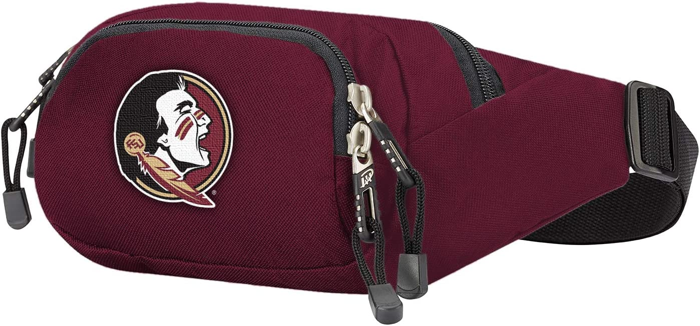 Multi Color Officially Licensed NCAA Cross-Country Belt Bag 13 x 5 x 5