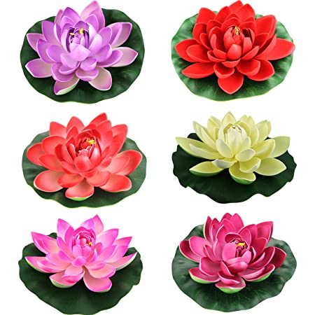 small Lotus-small water lily-desk decor-Artificial Lotus-Artificial tree-Clay Flower-Clay lotus