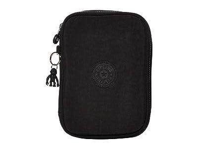 Kipling 100 Pens Case (Black Noir) Travel Pouch