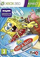 Bob l'éponge: surf & skate (jeu Kinect) [Importación francesa]