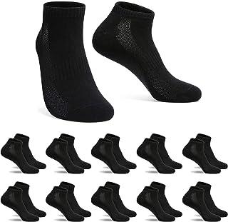 FALARY Trainer Socks for Men Women Sports Running Ankle Socks Ladies 10 Pairs Low Cut