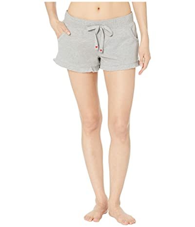 P.J. Salvage Love Lounge Shorts (Heather Grey) Women