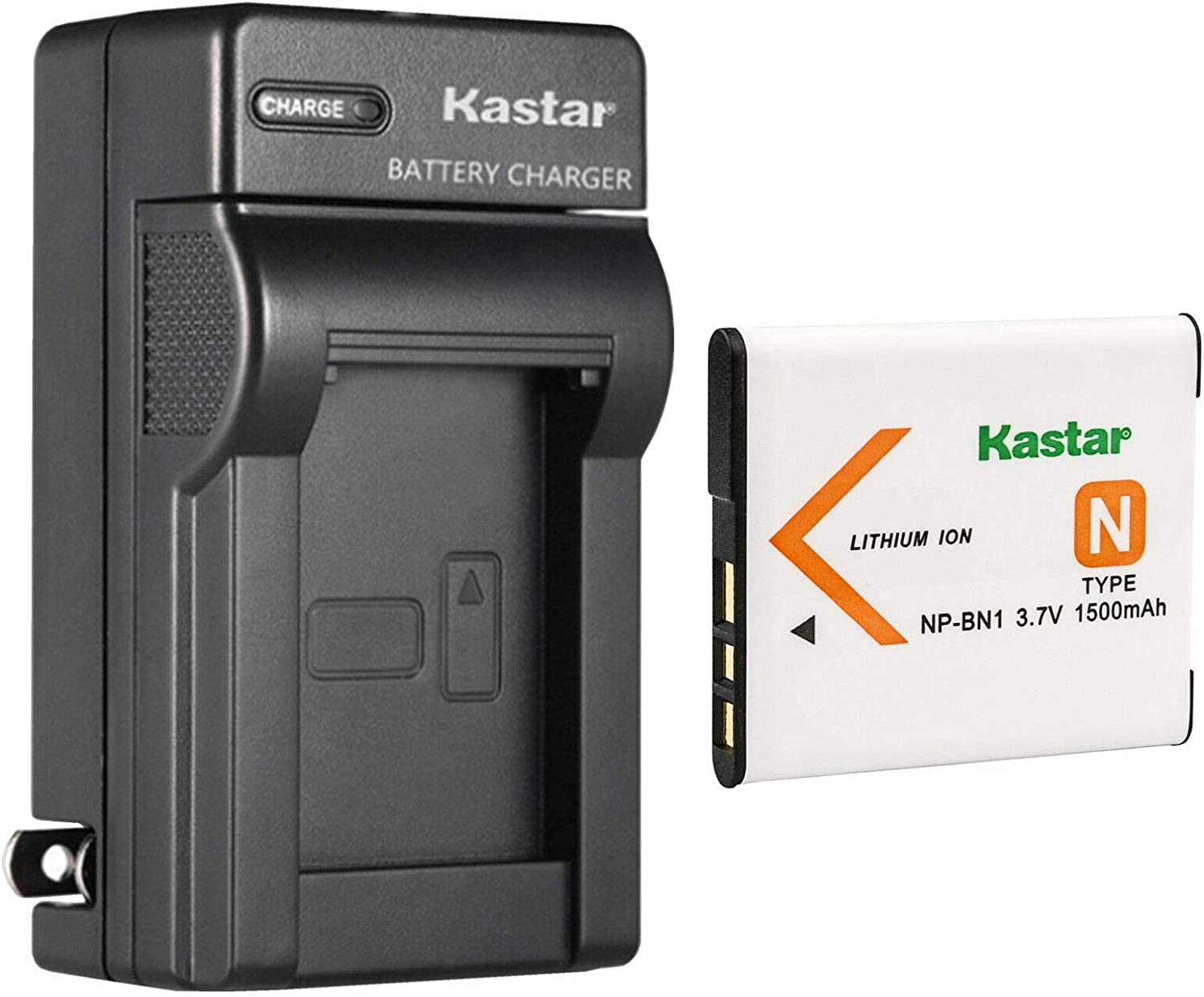 Kastar 1-Pack Battery and AC Wall Sony Charger Replacement Great interest N for Cheap sale