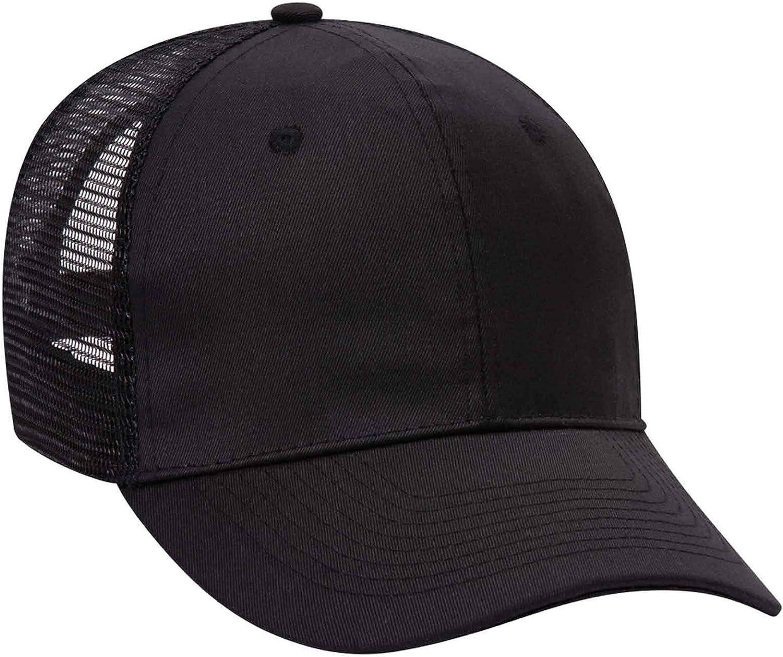Product of Ottocap Promo Cotton Blend Twill Pro Style Mesh Back Trucker Hat -Royal [Wholesale Price on Bulk]