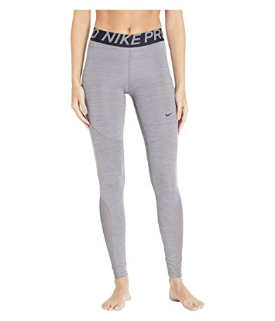 Nike Pro Tights (Gunsmoke/Heather/Gunsmoke/Black) Women
